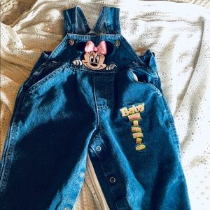 Minni Mouse Overalls!